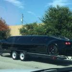 Độc đáo Bugatti Veyron độ thân dài