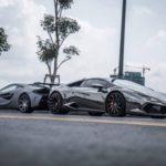 Choáng 2 siêu xe Lamborghini và McLaren Độ Vorsteiner ở Sài Gòn