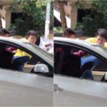 Dân mạng bức xúc anh chàng đạp vào mặt nữ tài xế