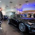 DJ nổi tiếng Don Diablo mua xe sang Lexus RC F