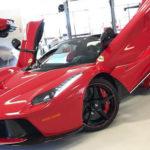 Siêu xe Ferrari LaFerrari Aperta bán đấu giá từ thiện được 220 tỷ đồng
