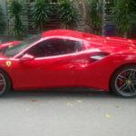 Choáng siêu xe Ferrari 488 mui trần xuất hiện ở Nam Định