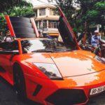 Ảnh Lamborghini Murcielago tái xuất trên phố Việt