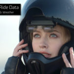 Mũ bảo hiểm hiện đại có camera chiếu hậu và cả đèn cảnh báo