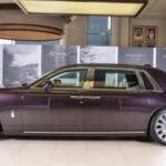 Rolls-Royce Phantom 2018 mới ra mắt giới đại gia Abu Dhabi