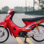 Xe Wave Thái đỏ tuyệt đẹp giá trăm triệu đồng không bán