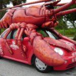 Những chiếc xe ô tô độ lai động vật hài hước