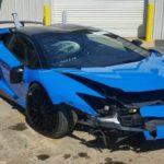 Không có tiền sửa xe tai nạn chủ Lamborghini bán giá bèo