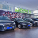 Video ngắm dàn xe sang Audi phục vụ APEC 2017