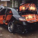 Toyota Camry lên đời nội thất như Limousine