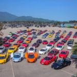 Mãn nhãn hàng trăm siêu xe tụ tập cùng nhau