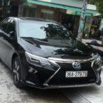 Chi tiết xe Toyota Camry 2.5Q 2017 độ như Rolls royce ở Thanh Hóa