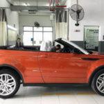 Range Rover Evoque mui trần sẽ có giá hơn 4 tỷ đồng ở Việt Nam
