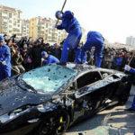 Video: 3 siêu xe bị đại gia đập nát vì không vừa ý với hãng xe