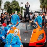 Dàn siêu xe khủng đón chào Halloween 2017 ở Mỹ