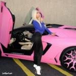 Top siêu xe màu hồng dành cho ngôi sao nữ thế giới