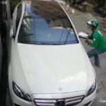 Mercedes E300 giá 3 tỷ của ca sỹ Tố My bị bẻ trộm gương