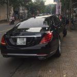 Maybach S400 giá 7 tỷ trên đường phố Bình Dương