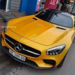 Mercedes AMG GTS của nữ đại gia Hải Phòng về chơi Phú Thọ
