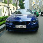 BMW M3 màu xanh hiếm xuất hiện ở Sài Gòn