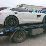Đại gia Hà Nội mua siêu xe Mercedes AMG GTS Edition 1 màu trắng