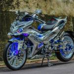 Yamaha Exciter 150 độ như rô bốt biến hình đẹp nhất thế giới