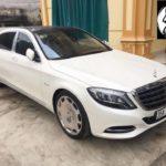 Xe siêu sang Maybach S400 giá 7 tỷ về Ninh Bình