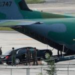 Maybach S600 Guard bọc thép của Tổng thống Hàn Quốc đến Việt Nam
