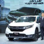 Chi tiết Honda CR-V 2017 vừa ra mắt ở Việt Nam giá chưa đến 1,1 tỷ đồng
