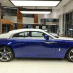 Rolls Royce Wraith với màu xanh đẹp Blue Salamanca