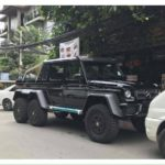 Thực hư về ảnh chiếc Mercedes G63 AMG 6X6 được cho là về Việt Nam ?