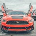 Ngắm siêu xe Ford Mustang của đại gia Lào Cai tăng tốc mạnh mẽ