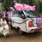Video chú rể lái xe tải đi đón cô dâu ở Nghệ An xôn xao cộng đồng mạng