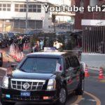 Choáng dàn siêu xe 30 chiếc hộ tống tổng thống Mỹ thăm Nhật bản