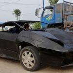 Tay chơi vùng quê chế tạo siêu xe Lamborghini độc từ sắt vụn