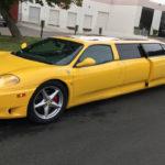 """Siêu xe Ferrari 360 """"xịn"""" bản thân dài Limousine cực đẹp"""