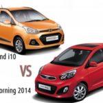 Có 300 triệu đồng nên mua xe Kia Morning hay Huyndai i10 hơn ?