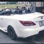 Choáng xe KIA KOUP cũ độ mui trần kiểu Lexus LS250 ở Cà Mau