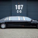 Độ siêu sang của Mercedes-Maybach S600 Pullman bản thường