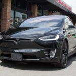 Sưởi ấm xe Tesla bằng di động