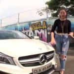 Thu Thảo đánh giá xe sang hiệu suất lớn Mercedes CLA 45 AMG