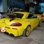 BMW Z4 độ liberty walk hầm hố ở Việt Nam