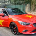 Tiếp tục ngắm dàn xe trên phố Việt cổ vũ Việt Nam đá bóng