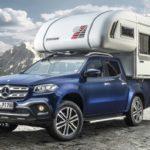Sẽ có xe bán tải Mercedes X class bản có thùng cắm trại siêu sang ?