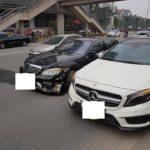 Nguyên nhân nào khiến Mercedes S63 và GLA 45 AMG tai nạn ở Hà Nội ?