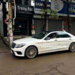 Mercedes S63 AMG mới của đại gia Hà Nội về Phú Thọ chơi