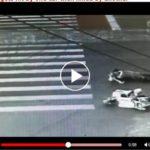Kinh hoàng người phụ nữ bị ô tô chèn qua gãy gập đầu