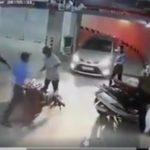 Dân mạng bức xúc bảo vệ đánh dã man người đàn ông cao tuổi gửi xe