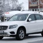 SUV cỡ nhỏ Mercedes GLC 2019 lộ ảnh chạy thử trên tuyết