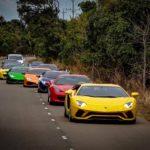 Những bức ảnh chụp dàn siêu xe của đại gia Việt như đang ở Dubai